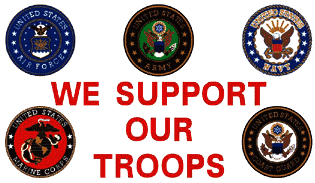 We Support the Troops