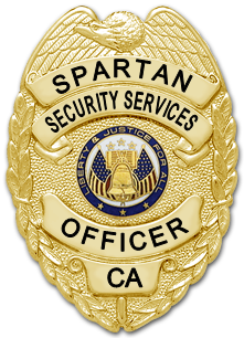 Spartan Security Services Badge (Officer)