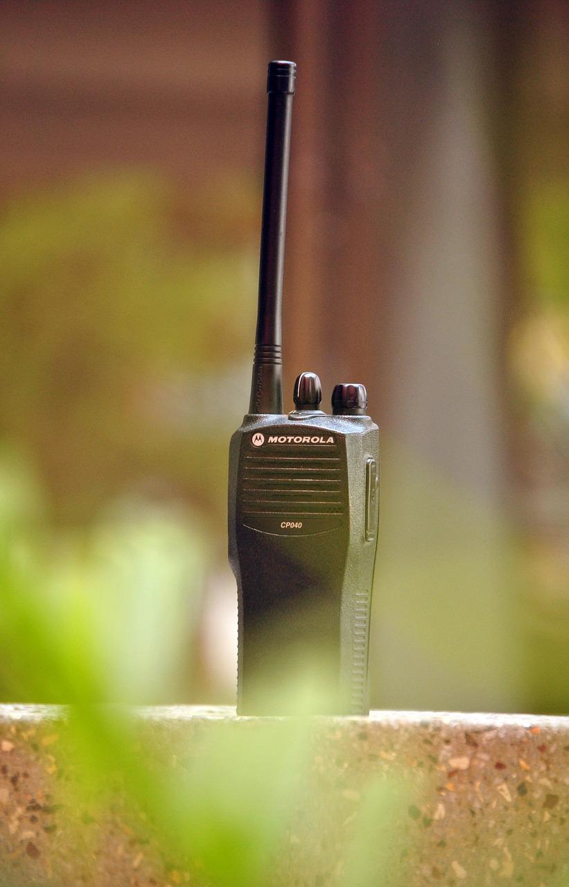 Two Way Radio-Walkie-Talkie-Spartan Security Services